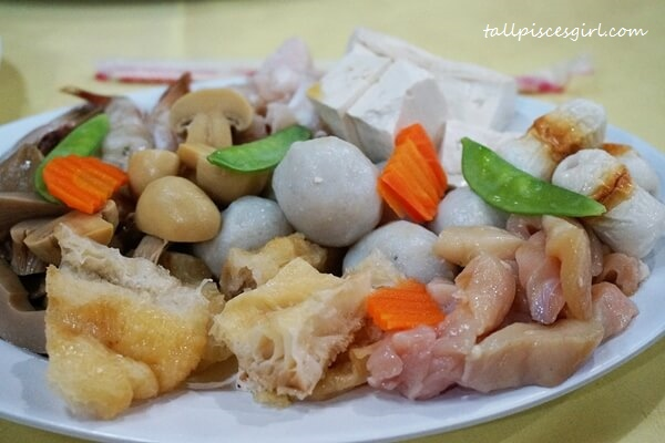 Steamboat Ingredients for 2 pax