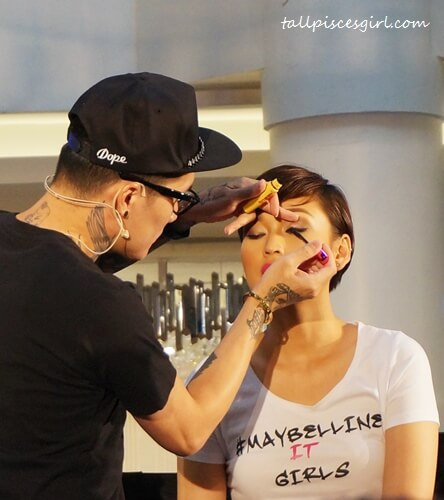 StevenSunny & Asia's Next Top Model 4 finalist, Aldilla (Indonesia) for Make It Dolly look