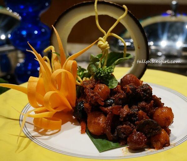 Acar Buah as appetizer before Ramadan Buffet feast