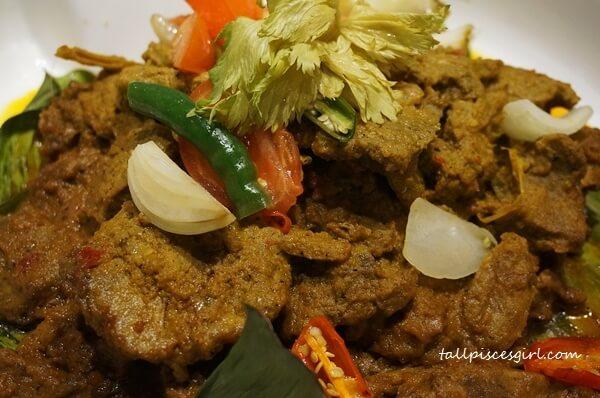 Beef Rendang Minangkabau Style