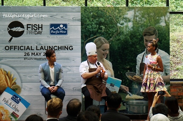A Q&A session with special guest, Jordan Yeoh and Pacific West Corporate Chef, Garry Edson