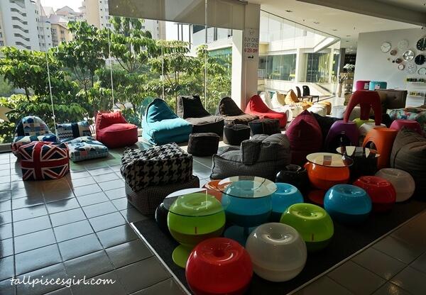 Bean bags @ MajuHome Concept, Citta Mall