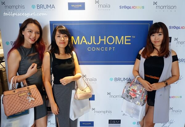 With my girls @ MajuHome Concept's Grand Concept