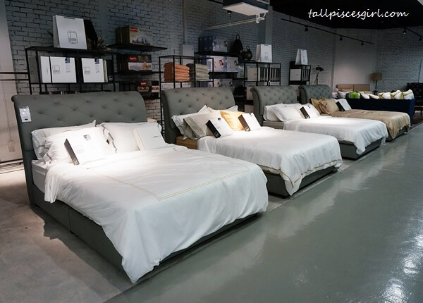 A diverse range of branded bedding products