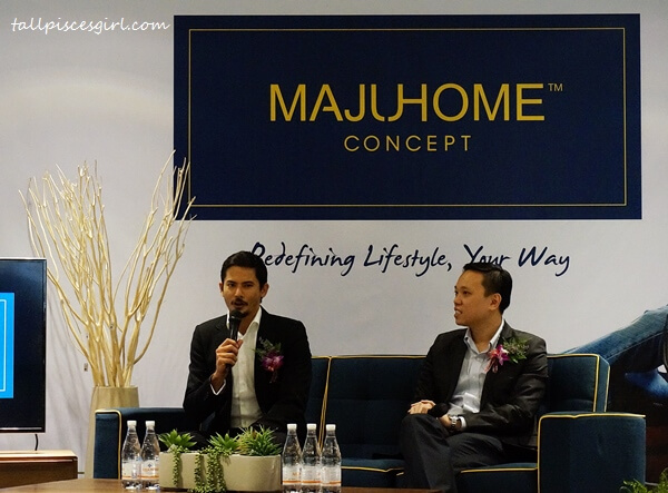 Alex Yoong was appointed as the brand ambassador of MajuHome Concept