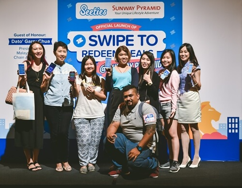 Seeties Sunway Pyramid Swipe to Redeem Campaign Bloggers