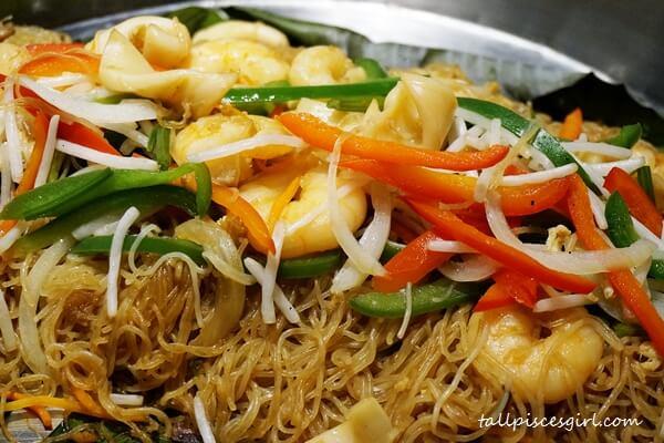 Wok Fried Glass Noodle