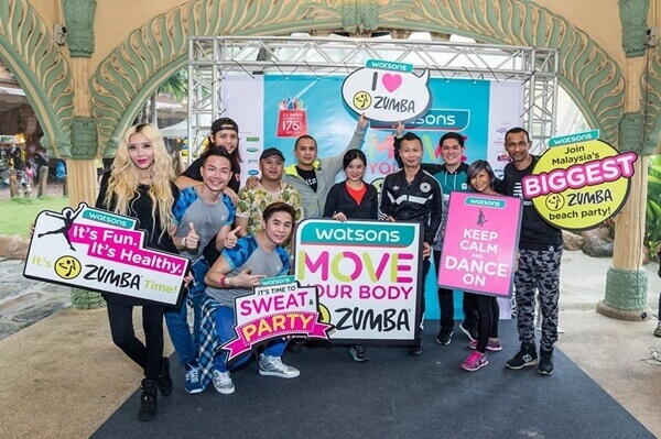 Celebrities and DJs who will be joining us at Sunway Surf Beach for Watsons Move Your Body Zumba 2016