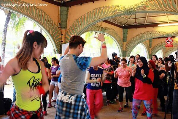 Let's practice Zumba for a bit, shall we?