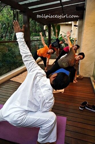Balinese Energy Healing Yoga @ Mandara Spa