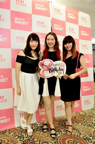 With pretty bloggers Fish and Rane @ Etude House 8th Anniversary Princess Night