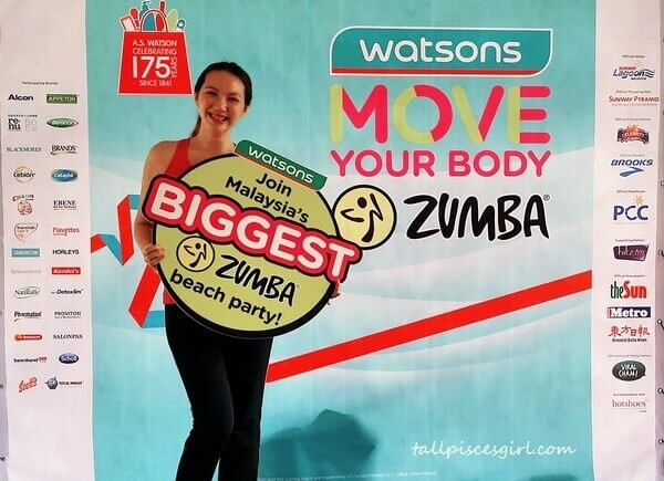 Watsons Move Your Body with Zumba | Watsons Move Your Body Zumba Beach Party