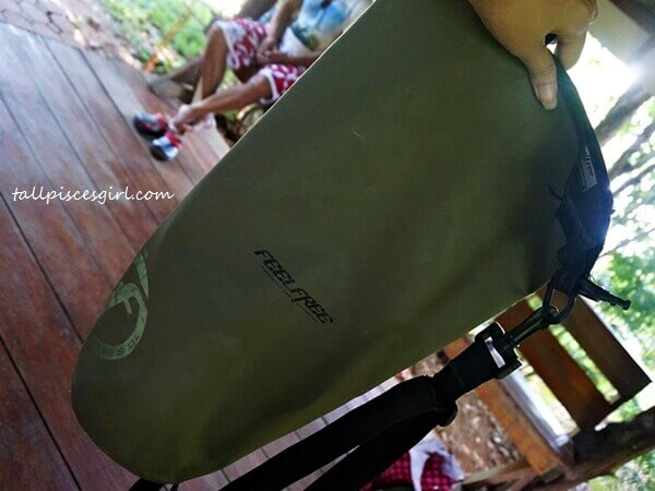 Feelfree Dry Bag for our usage