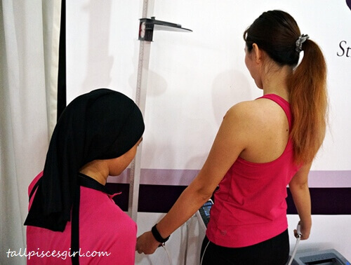 Body Composition Analysis @ Curves Malaysia