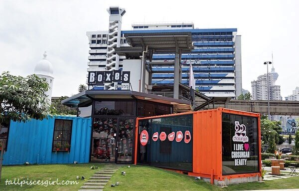 Chosungah22's launch by Sasa Malaysia @ Boxes Cafe, BBCC KL (former Pudu Jail)