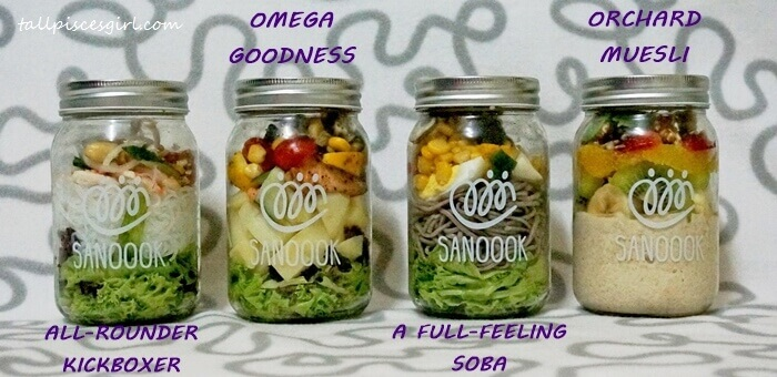 Sanoook Salad Jar