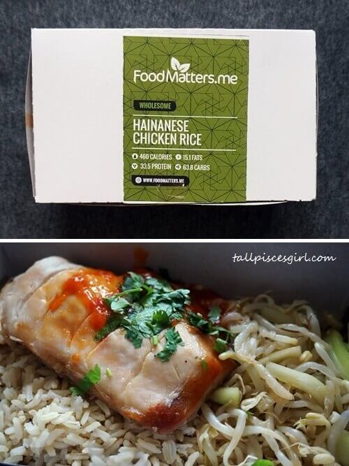 Food Matters - Hainanese Chicken Rice