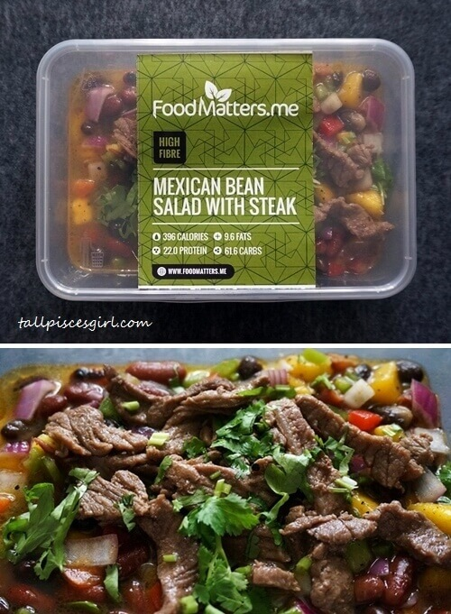 Food Matters - Mexican Bean Salad with Steak