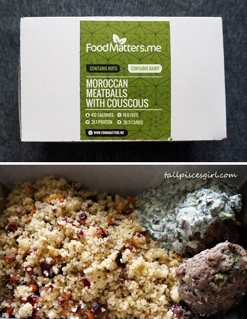 Food Matters - Moroccan Meatballs with Couscous