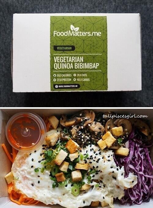 Food Matters - Vegetarian Quinoa Bibimbap