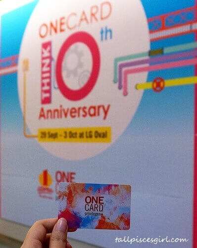 ONECARD 10th Anniversary: This is the first loyalty card in Klang Valley that supports both shopping and parking facilities