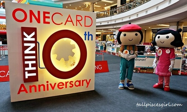 ONECARD Think 10th Anniversary with lots of rewards, giveaways and promotions for everyone
