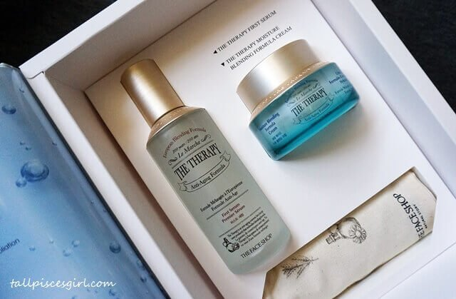 Special Box Set from The Face Shop Malaysia | How to Boost Moisture with THE FACE SHOP The Therapy First Serum