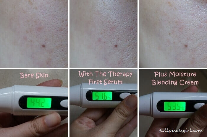 The Face Shop - The Therapy First Serum Results