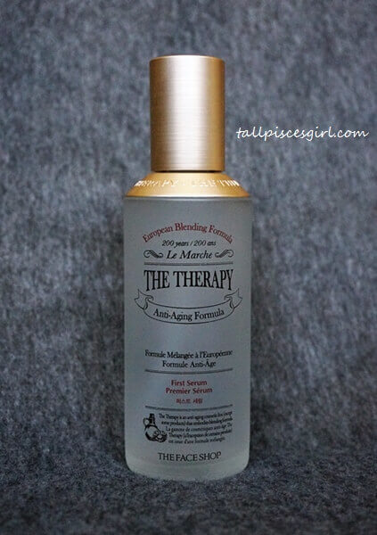 The Face Shop The Therapy First Serum (Price: RM 148.29 / 130 ml)