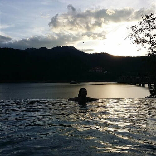 Charmaine @ Belum Rainforest Resort Infinity Pool