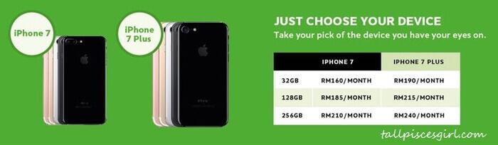 CompAsia ReNew+ iPhone 7 Price Plan