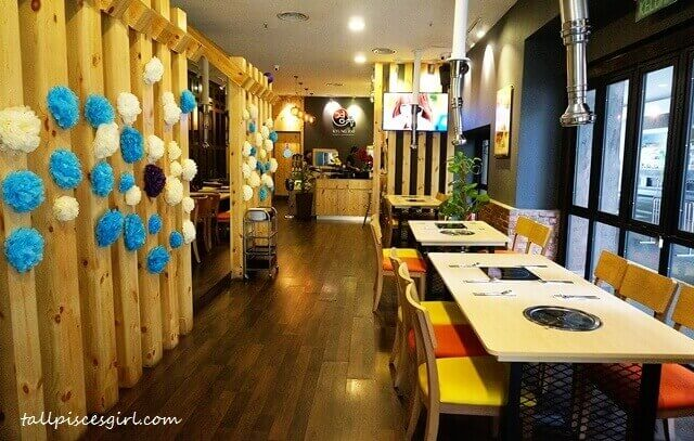 Inviting atmosphere of Kyung Joo Korean Restaurant