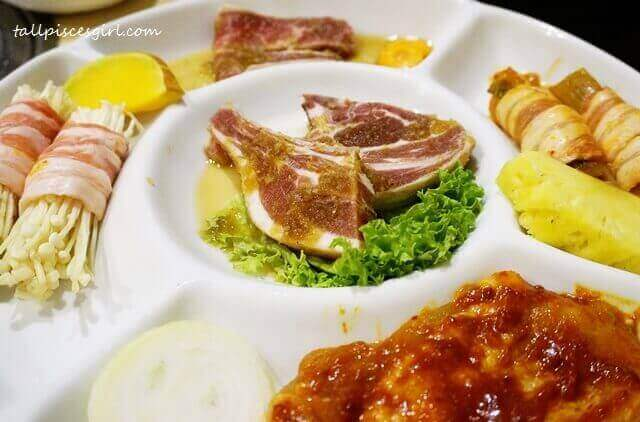 Kyung Joo Mixed BBQ with Cheese Set A (Price: RM 128.80)