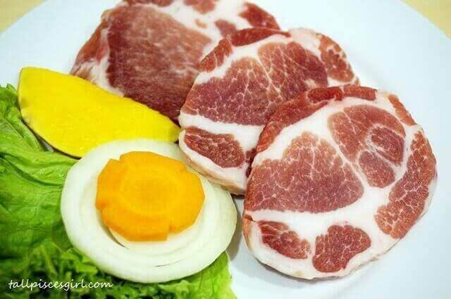 Pearl Pork Neck (RM 42.80)