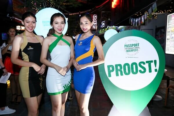 The Brand Ambassadors at Passport International Beerfest Launch