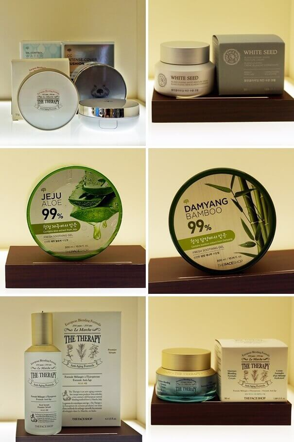 Must Buy Products from THE FACE SHOP