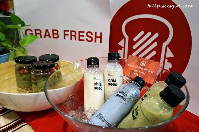 Grab Fresh Chia Seed Drinks