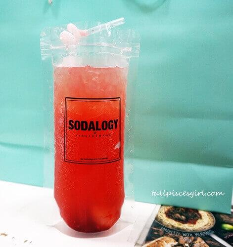 Strawberry + Lychee Alcohol Free Italian Soda