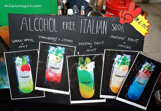 Fingersmade Alcohol Free Italian Soda