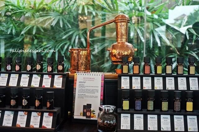 A miniature of an essential oil distiller