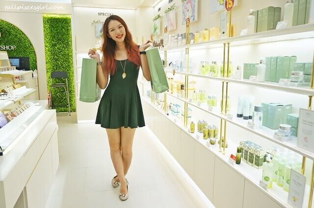 tallpiscesgirl X THE FACE SHOP