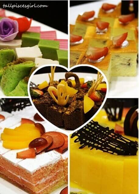 Desserts @ Semi Buffet Steamboat, Pearl International Hotel