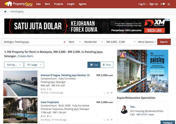 PropertyGuru Portal