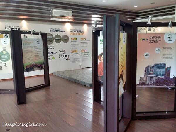 Laman Padi Bernas information centre