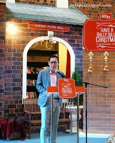 Mr. HC Chan, the CEO of Sunway Malls and Theme Parks