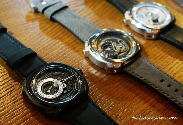 A sneak peek on SevenFriday Q-Series watches