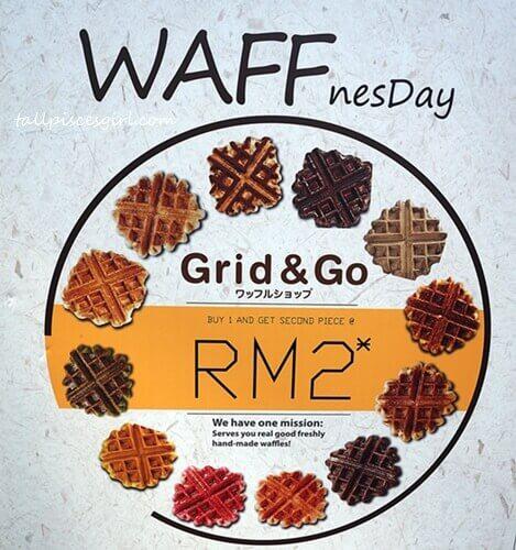Grid & Go WAFFnesday Promotion