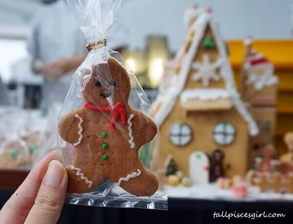 Ginger Bread Man by the skillful pastry chefs at Harold's Academy