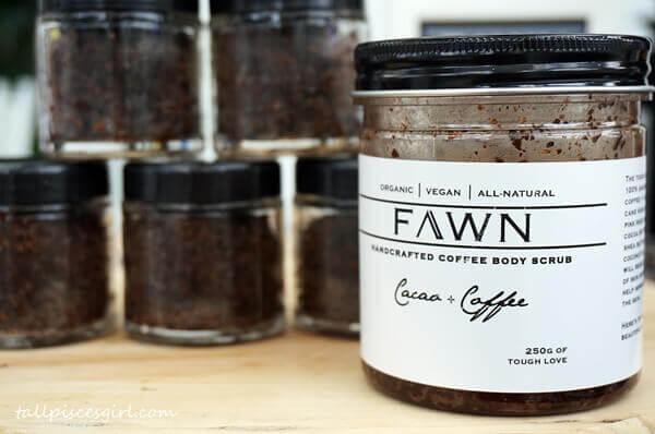 FAWN Beauty Co Handcrafted Coffee Body Scrub