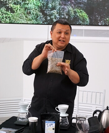 Daniel Liew, the founder of the Barista Guild of Asia